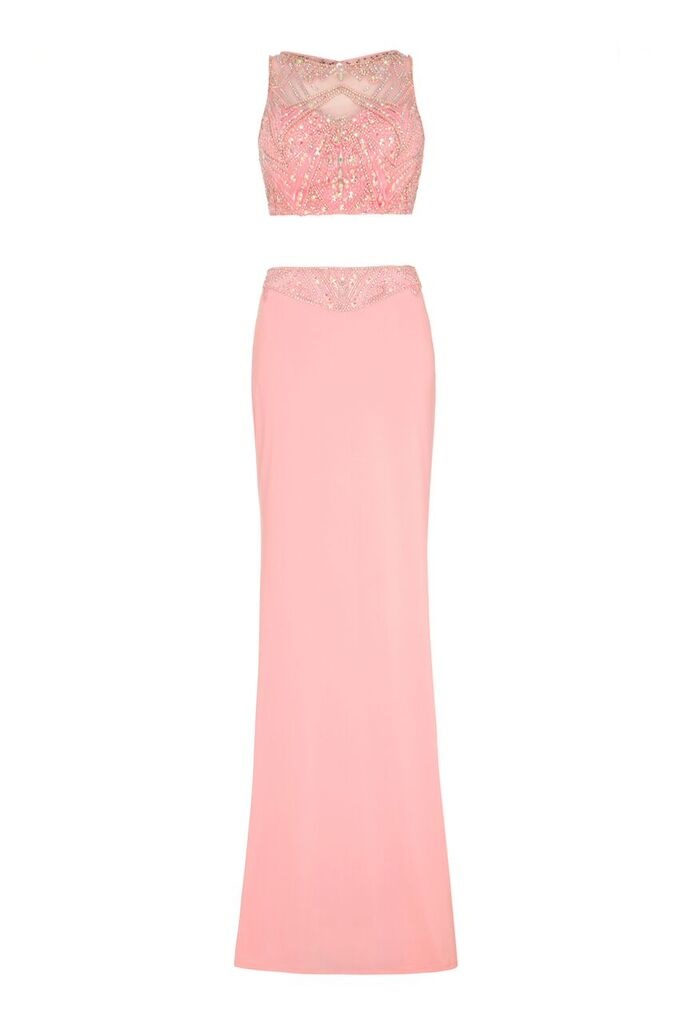 Mikie Baby Pink Two Piece Dynasty London - Ladida Boutique 00a08cedc