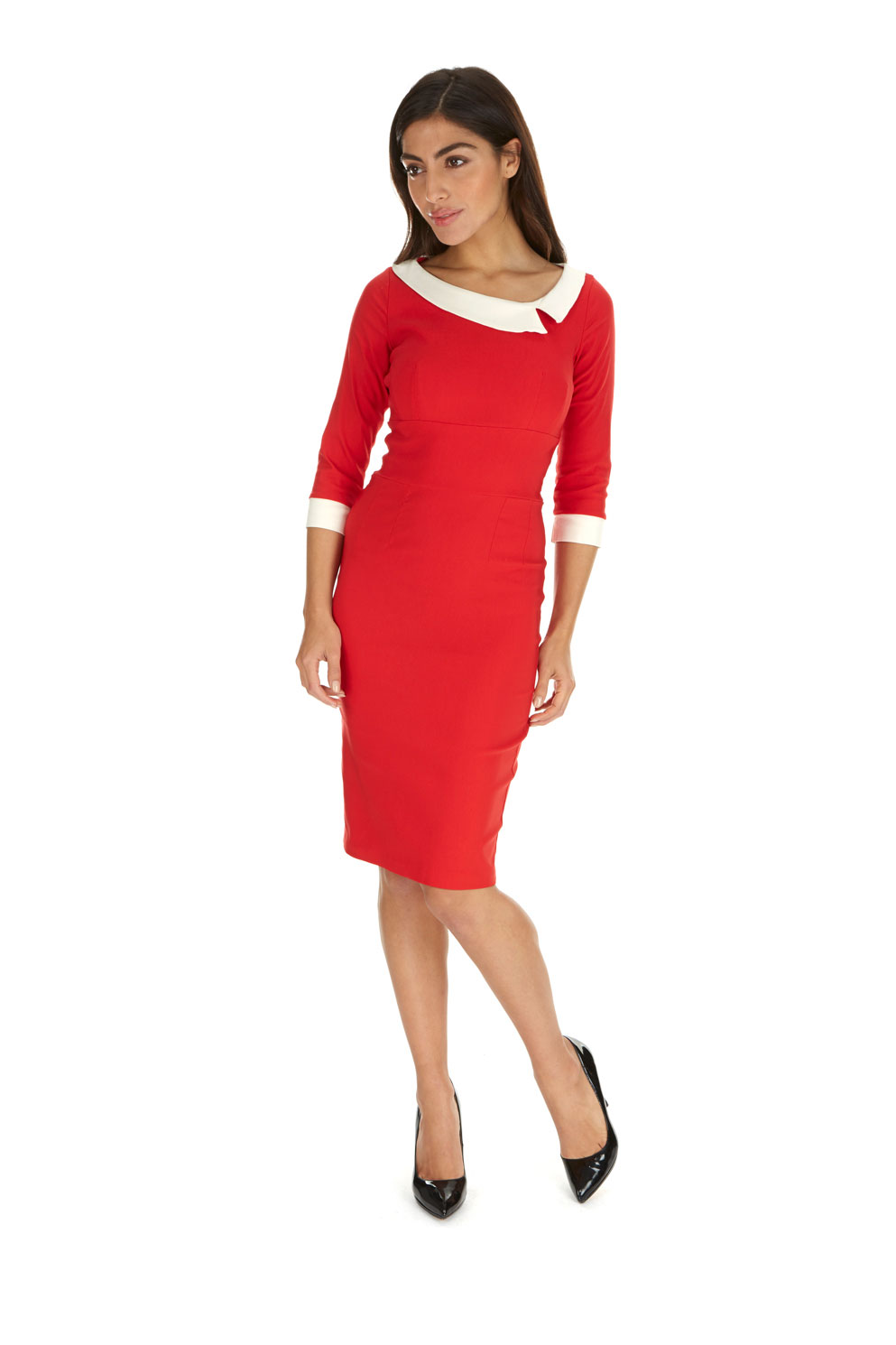 Mistress Red Day Dress The Pretty Dress Company - Ladida Boutique
