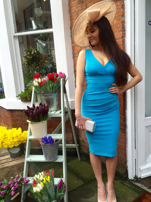 Banbury Dress, Crystal Blue. - Ladida Boutique