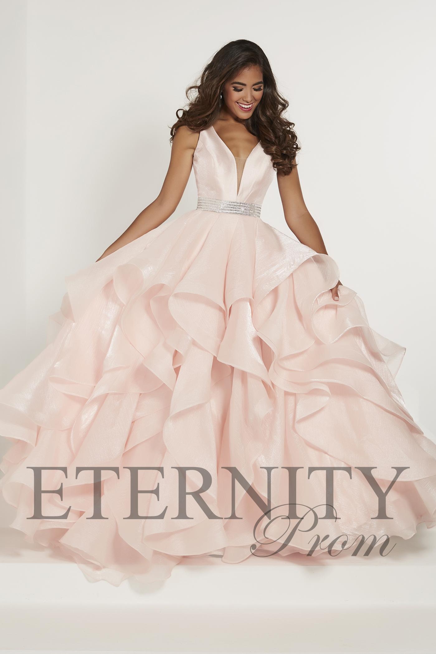 Eternity Prom 46158 Peach - Ladida Boutique fe0aaf61a