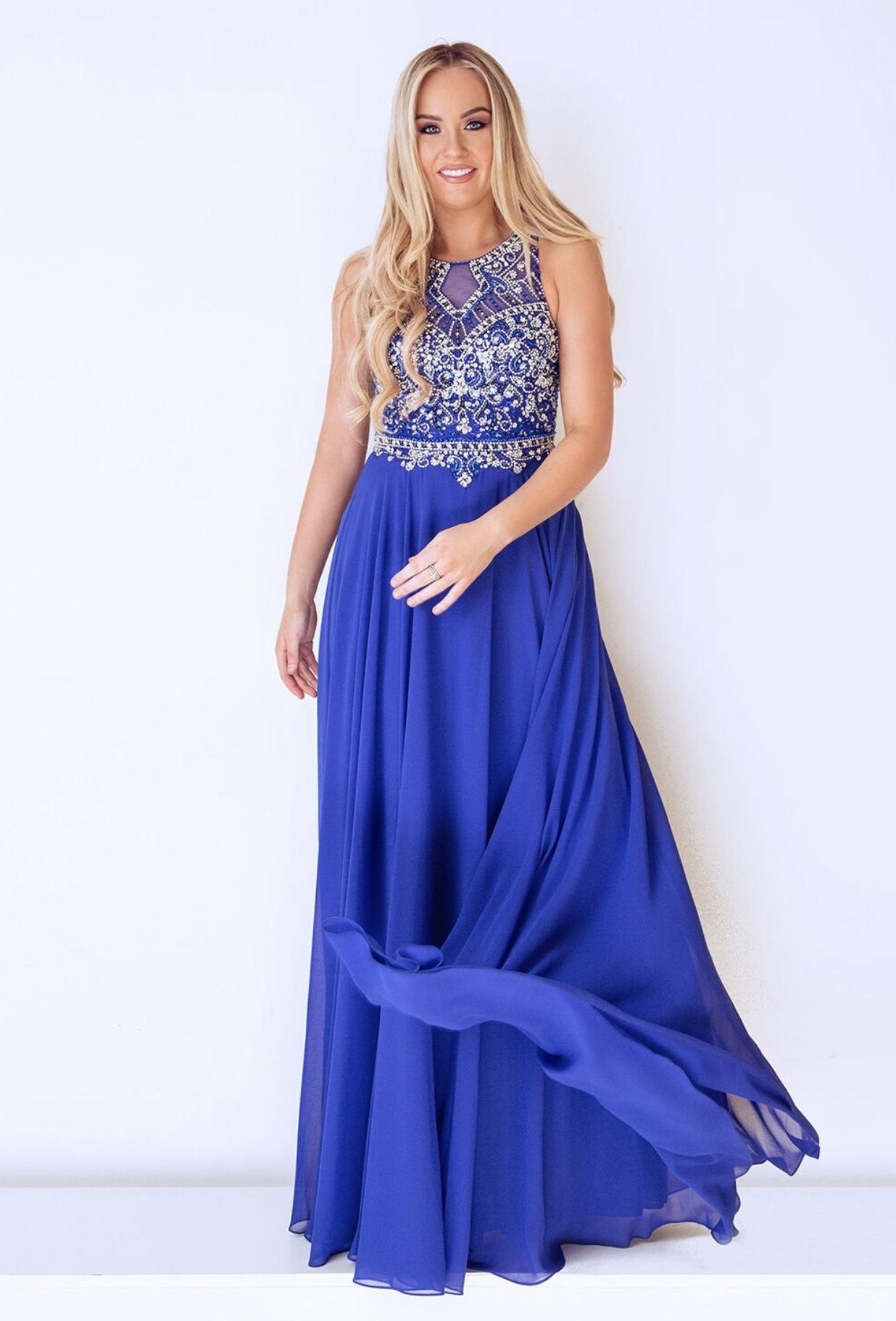 Dynasty London 1023007 Jewel Blue - Ladida Boutique 67063b1b9